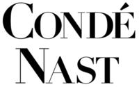Website conde nast logo zweizeilig